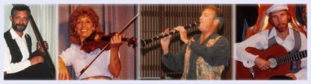 Ron Brendle - bass, Ali Kavadlo - violin & percussion, Gene Kavadlo - clarinet, Mike Mosley - guitar
